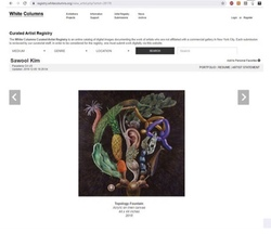White Colums Curated Artist Registry
